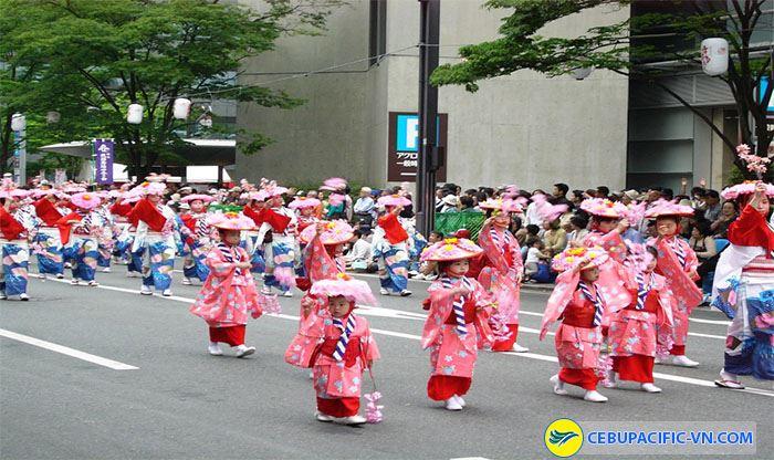 Người Nhật đón năm mới trong lễ hội mừng xuân vui tươi