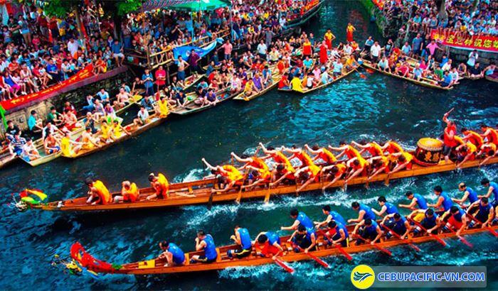 Lễ hội đua thuyền tại Trung Quốc