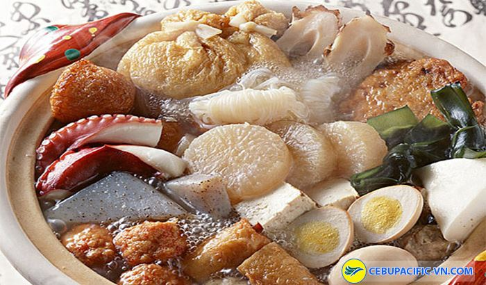 Món Oden không thể thiếu trong mùa đông của Nhật