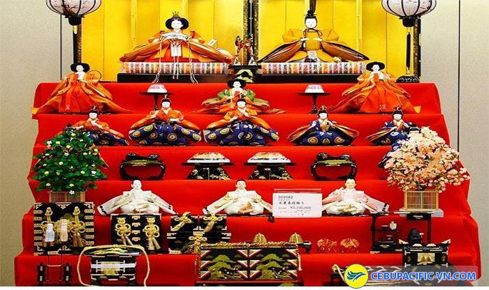 Độc đáo với lễ hội búp bê tại Nhật Bản
