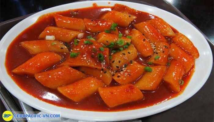 Bánh gạo cay Hàn Quốc