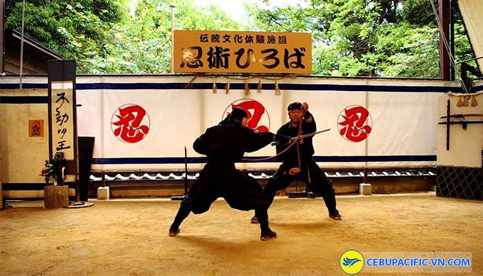 Xem biểu diễn Samurai
