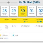 Hành trình Manila đi Hồ Chí Minh