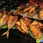 Những con cá nướng mình dày thơm ngon