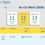 Chiều về từ Manila - Hồ Chí Minh