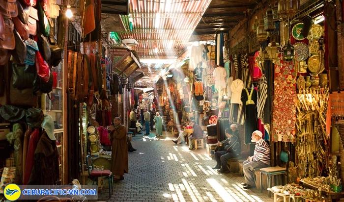 Đường phố ở Marrakech