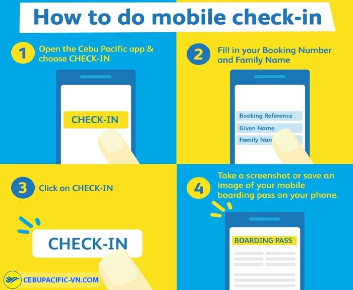 Check-in qua điện thoại di động