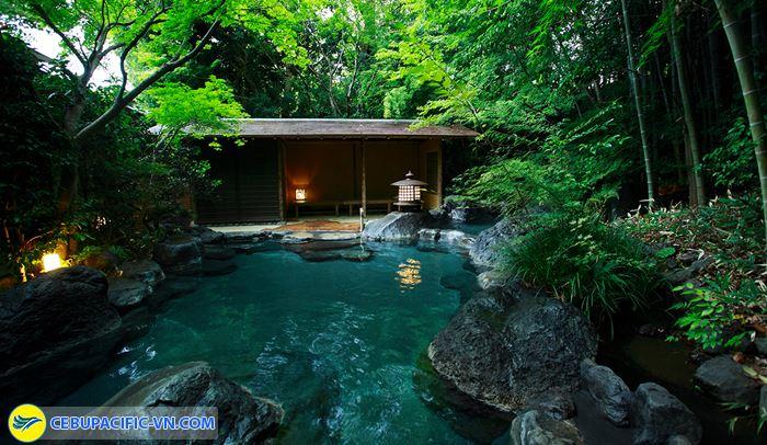 Yagyu No Sho với nhà tắm nước khoáng nóng lộ thiên