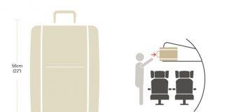 Hành lý xách tay đối với các chuyến bay Airbus