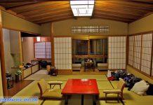Bài trí theo đúng phong cách hoàng gia Nhật Bản