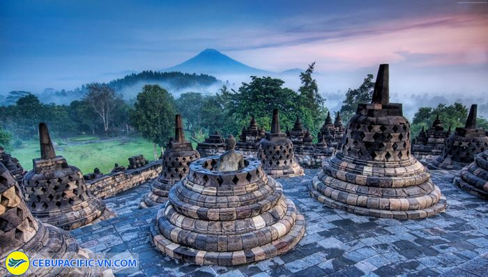 Chiêm ngưỡng ngôi đền Borobodur