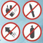 Các món đồ bị cấm hoàn toàn khi đi máy bay