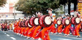 Lễ hội trống Morioka Sansa Odori
