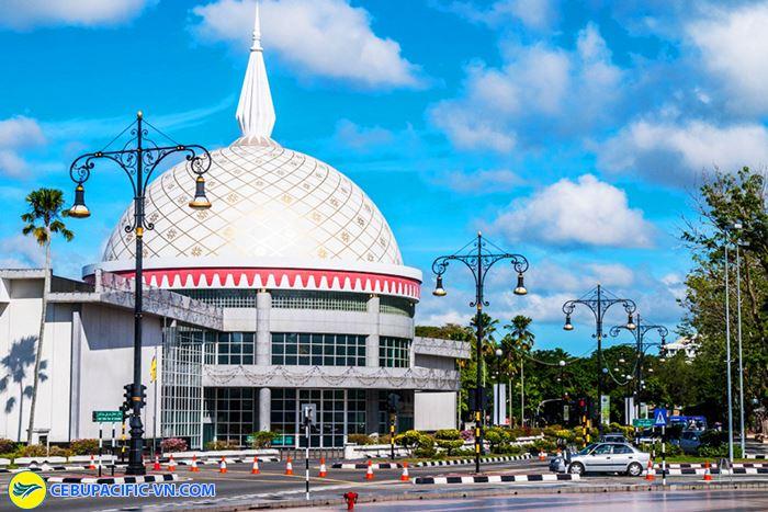 Bảo tàng Brunei nơi diễn ra các buổi triển lãm