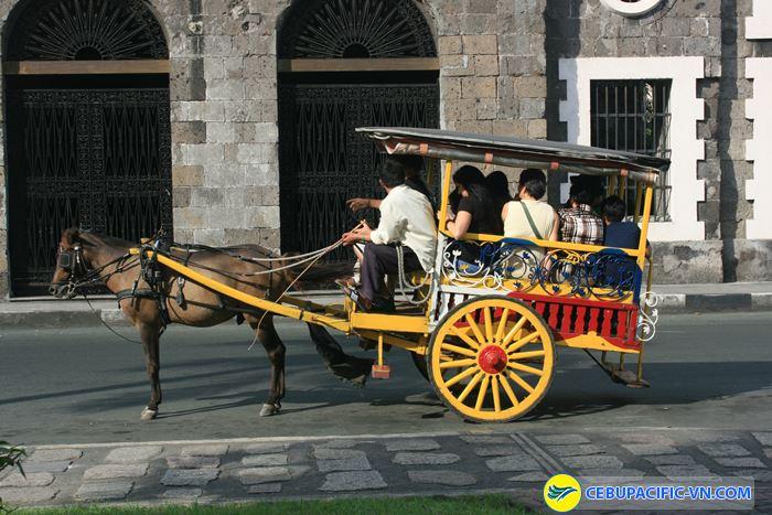 Kalesa loại xe này chỉ phục vụ cho khách du lịch