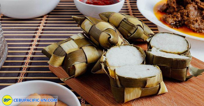 Món Ketupat món ăn dân dã ở Brunei