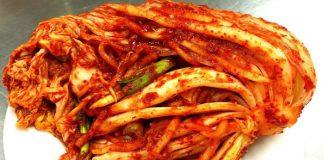 Kim chi món điển hình trong ẩm thực của Hàn Quốc