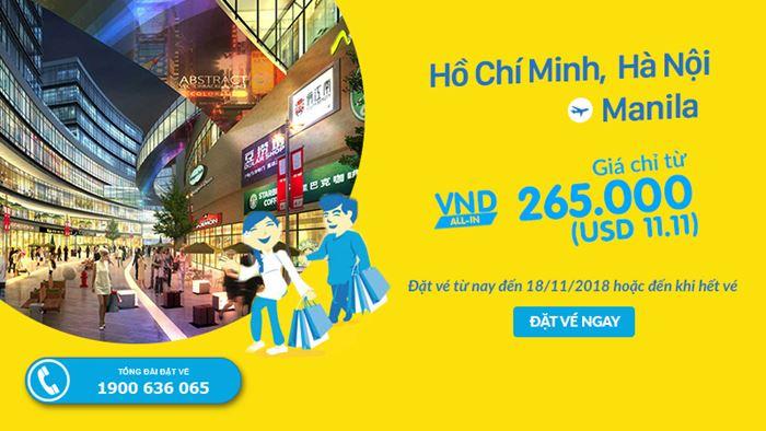 Từ Việt Nam chỉ với 265. 000 VNĐ