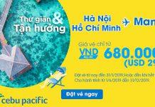 Cùng Cebu Pacific khám phá Philippines siêu tiết kiệm