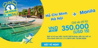 48 giờ săn khuyến mãi Cebu Pacific bay đến Philippines chỉ 15 USD