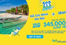 48 giờ khuyến mãi Cebu Pacific chỉ 15 USD bay đến Philippines